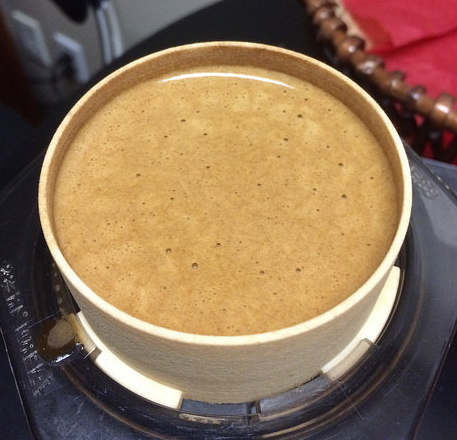 crema in inverted aeropress